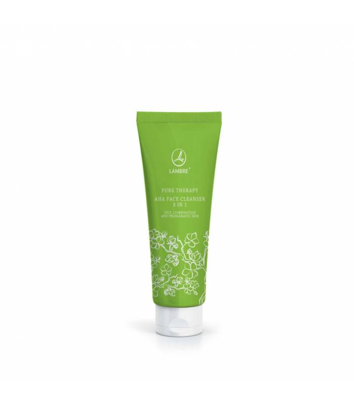PURE THERAPY AHA FACE CLEANSER 3 IN 1